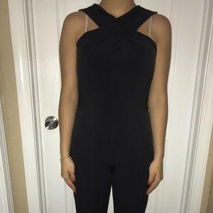 Brand New Black Criss Cross Michael Kors Dress